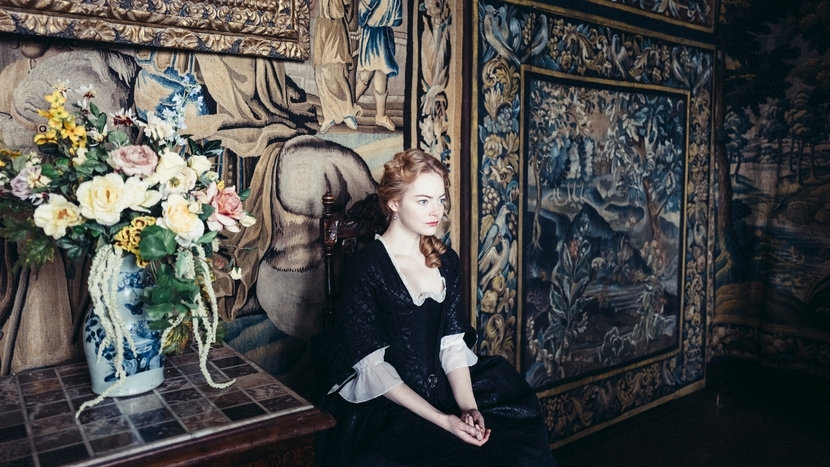 Image from The Favourite Dir Yorgos Lanthimos