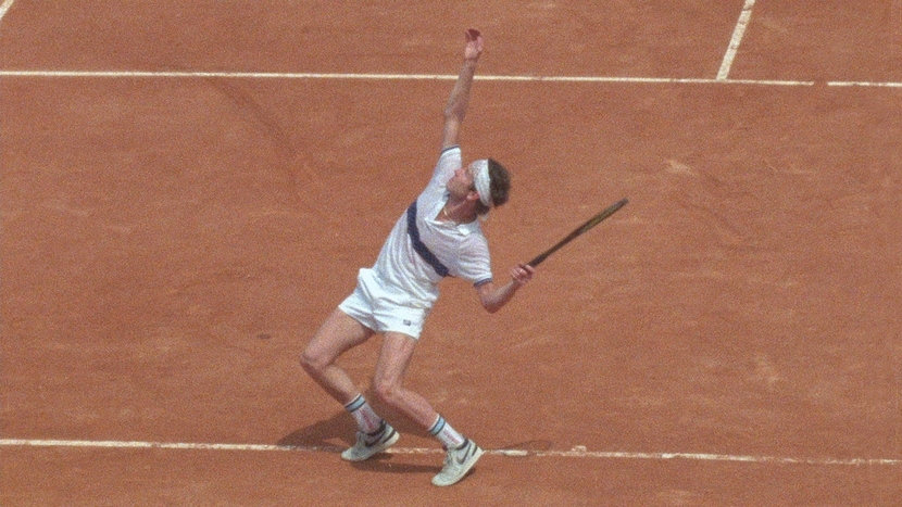 Image from John McEnroe: In the Realm of Perfection Dir-Scr Julien Faraut