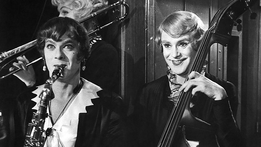 Image from Some Like it Hot Dir-Scr-Prod Billy Wilder