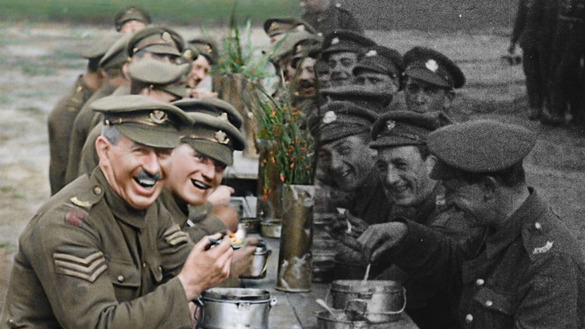 Image from They Shall Not Grow Old Dir Peter Jackson