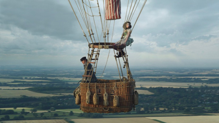 Image from The Aeronauts Dir Tom Harper