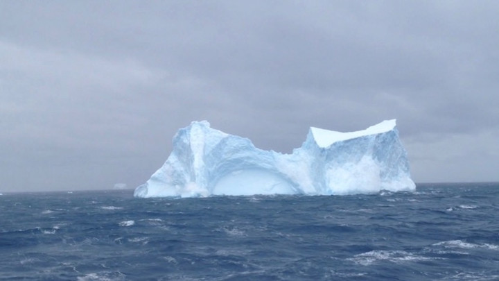 Image from Antarctic Traces, Dir Michaela Grill