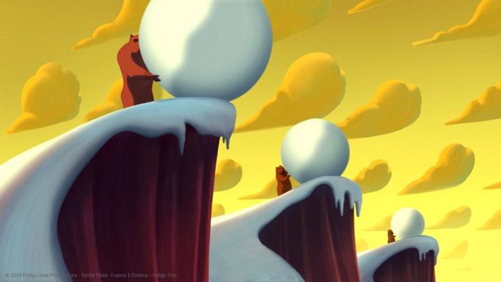 Image from The Bears' Famous Invasion Dir Lorenzo Mattotti