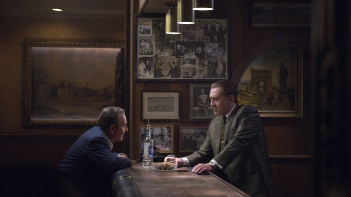 Image from The Irishman Dir Martin Scorsese