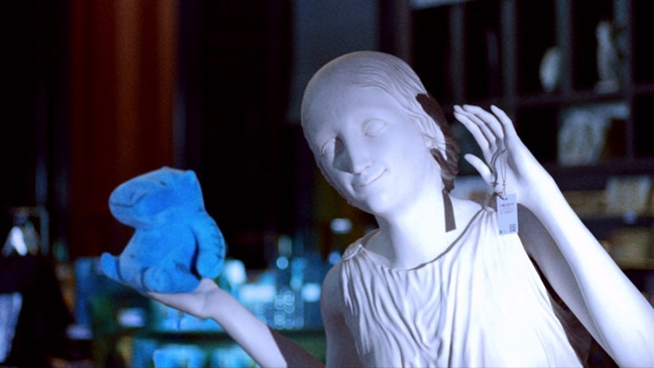 Image from The Marvelous Misadventures of the Stone Lady, Dir Gabriel Abrantes